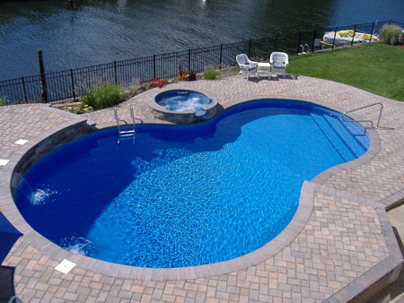 Above Ground Pool Landscaping Picture Swimming Pool Designs